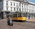 Tram at Piazza della Scala.JPG
