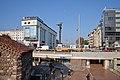 Tram in Sofia near Sofia statue 2012 PD 021.jpg
