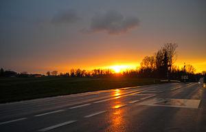 Castiglione d'Adda - Sunset in Castiglione d'Adda