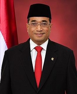 Budi Karya Sumadi Indonesian architect and politician