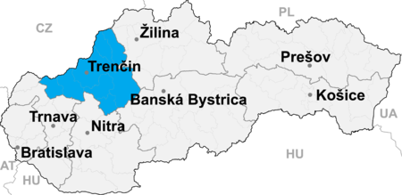Wilayah_Trenčín