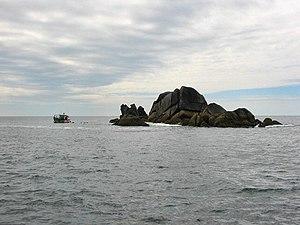 Western Rocks, Isles of Scilly - Trenemene, seen from Gorregan