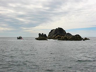 Western Rocks, Isles of Scilly - Trenemene, seen from Gorregan