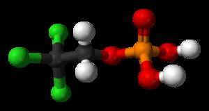 Triclofos - Image: Triclofos 3D balls