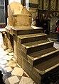 Trono detto di carlomagno, ante 936, costruito con materiali antichi di spoglio, 01.jpg