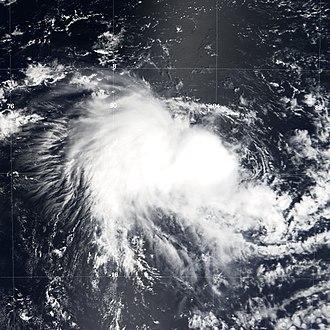 2005–06 Australian region cyclone season - Image: Tropical Cyclone 04S 2005