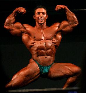 Troy Alves American IFBB professional bodybuilder