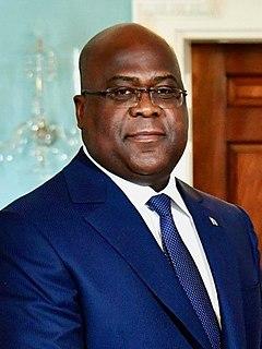 Félix Tshisekedi President of the Democratic Republic of the Congo