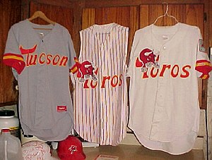 Tucson Toros - Tucson Toros jerseys from the early 1990s