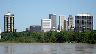 Neighborhoods of Tulsa, Oklahoma - The Arkansas River marks the division between West Tulsa and other regions of the city.