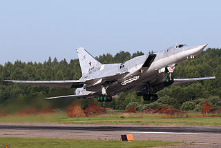 Tupolev Tu-22M strategic bomber aircraft