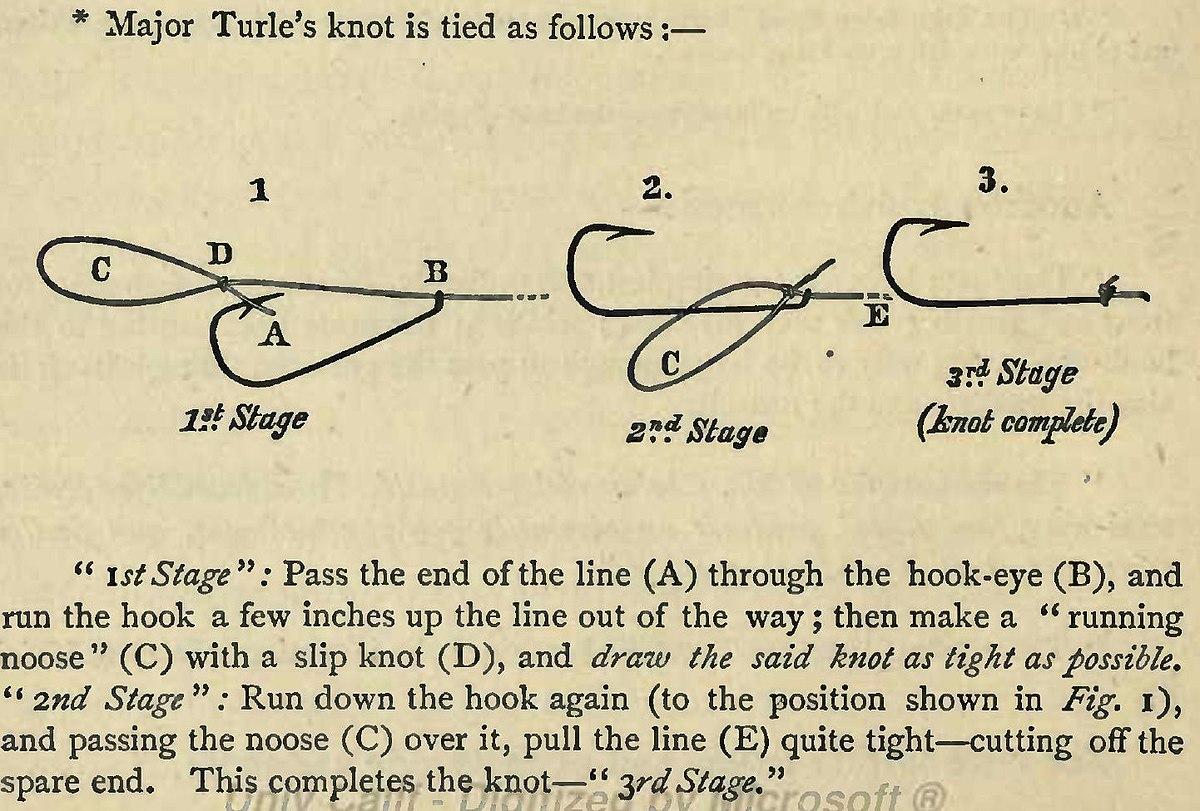 turle knot wikipediaRunning Bowline Knot Diagram Span Classquotreadheadquotgtthe Running Bowline #11