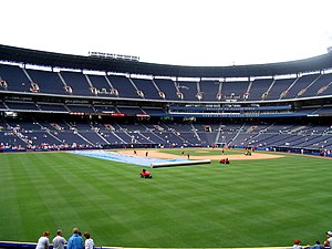 Turner Field - View from the outfield.