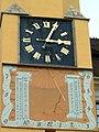 Turret clock city hall Bautzen Turmuhr.jpg