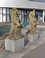 Twee Leeuwen Kruseman van Eltenweg Alkmaar.JPG