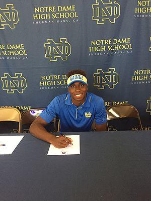Tyler Asemota - Tyler signs to the University of California, Los Angeles