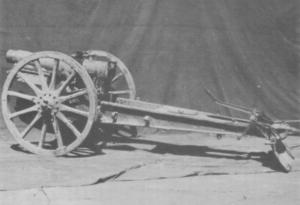 Type 38 12 cm howitzer - Japanese Type 38 120mm howitzer
