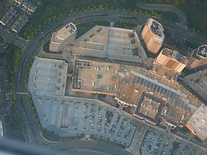 Tysons Galleria - The Tysons Galleria area from the air.