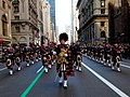 U.S. Coast Guard Pipe Band marching down 5th Ave., New York City.jpg