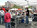 U. Dist. Street Fair 2007 sound booth 01.jpg