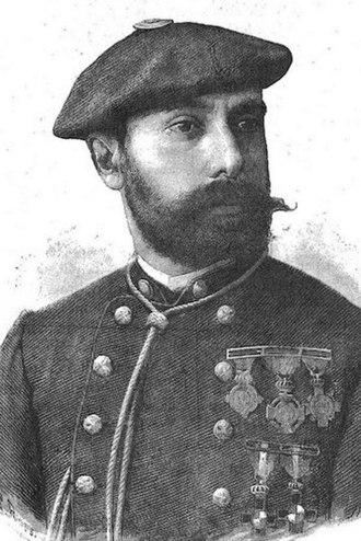 Joaquín Lloréns Fernández de Cordoba - Llorens, 1870s