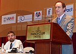 USAID Mission Director Francis Donovan addresses a conference on gender and HIV in Hanoi. (5712256559).jpg