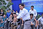 USAID Project Supports Rehabilitation Department for Children and Wheelchair Distribution in Danang (9305239206).jpg