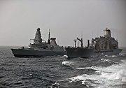 USNS Joshua Humphreys replenish at sea