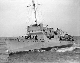Convoy SC 42 - HMS Leamington
