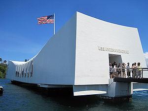 English: The USS Arizona Memorial, Pearl Harbor