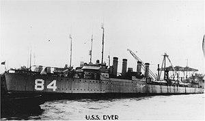 USS Dyer (DD-84)