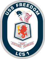 USS Freedom LCS1 Crest.png