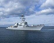 USS Momsen (DDG 92) stbd bow view