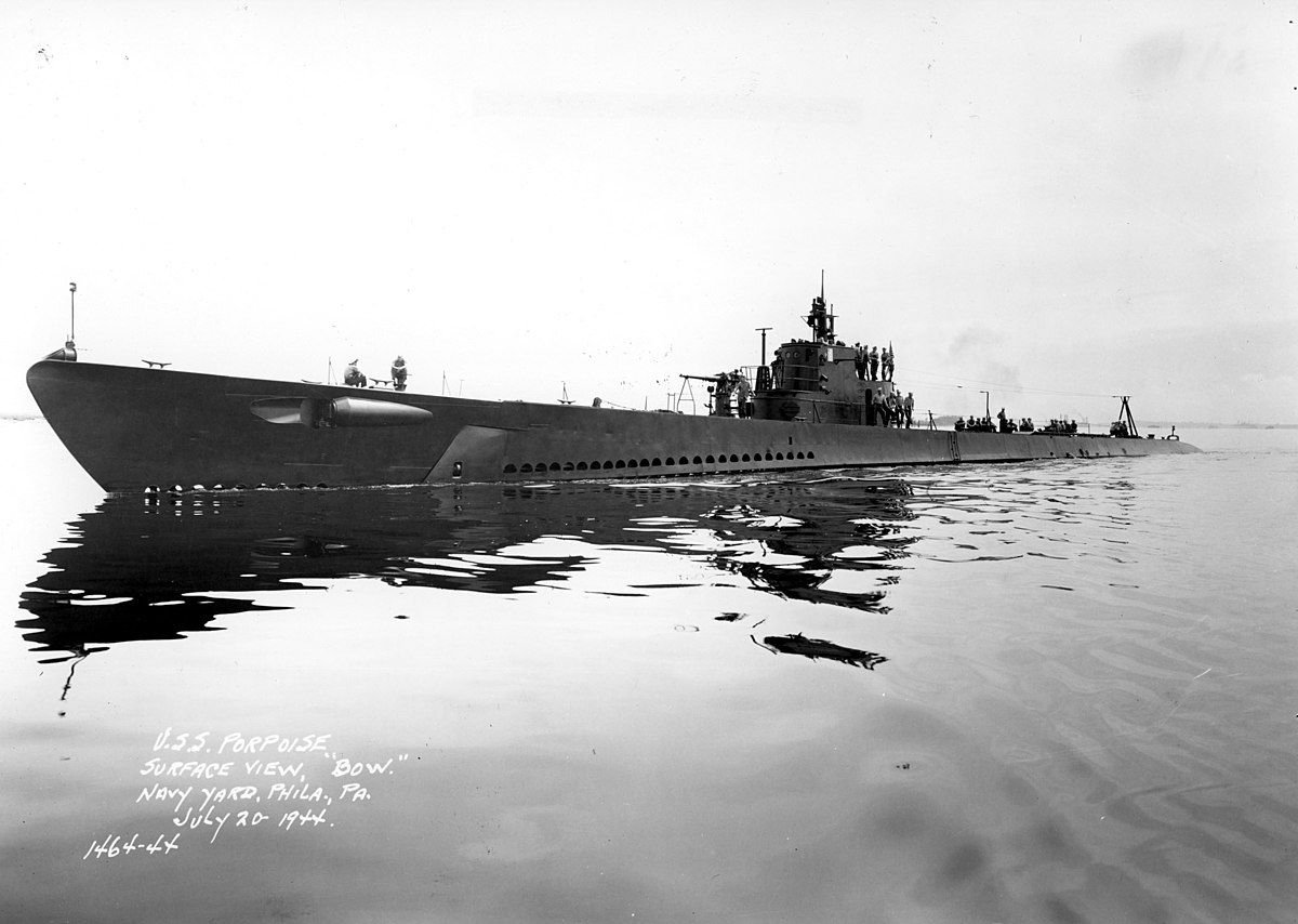 United States Porpoise-class submarine - Wikipedia