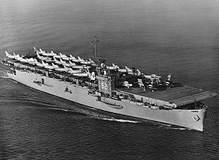 USS <i>Windham Bay</i> Casablanca-class escort carrier of the US Navy