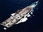USS Yorktown (CV-10) underway, circa in mid-1943 (80-G-K-14379).jpg