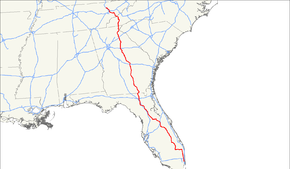 US Route  Wikipedia - Us 441 map
