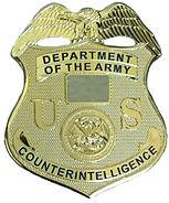 US ARMY CI BADGE