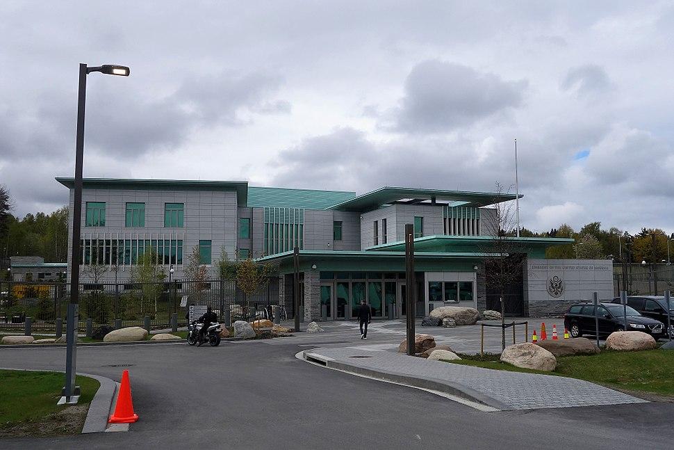 US Embassy in Oslo, Morgedalsveien