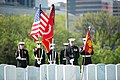 US Marines from Marine Barracks Washington (8th and I) participate in the graveside service at Arlington National Cemetery 150427-A-ZZ999-011.jpg