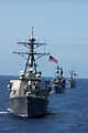 US Navy 080729-N-9076B-002 Ships steam in formation during a Rim of the Pacific 2008 exercise group photo.jpg