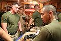 US Navy 100115-M-2293M-008 Hospital corpsmen treat an Afghan man for a gunshot wound.jpg