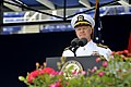US Navy 100528-N-8273J-110 Chief of Naval Operations (CNO) Adm. Gary Roughead addresses the U.S. Naval Academy Class of 2010 during the graduation and commissioning ceremony.jpg