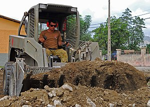 Royal Australian Engineers - An RAE sapper assigned to the International Stabilisation Force, Dili, Timor Leste, 2010