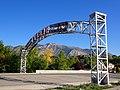 US Utah Ogden gantry sign Mt Ogden.JPG