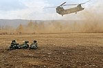 US and Japanese aviators work well together during Orient Shield 14 141031-N-ZB122-266.jpg
