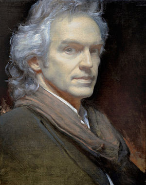 D. Jeffrey Mims - Image: Underpainting for Self Portrait