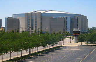 Chicago Blackhawks - The United Center in 2006.