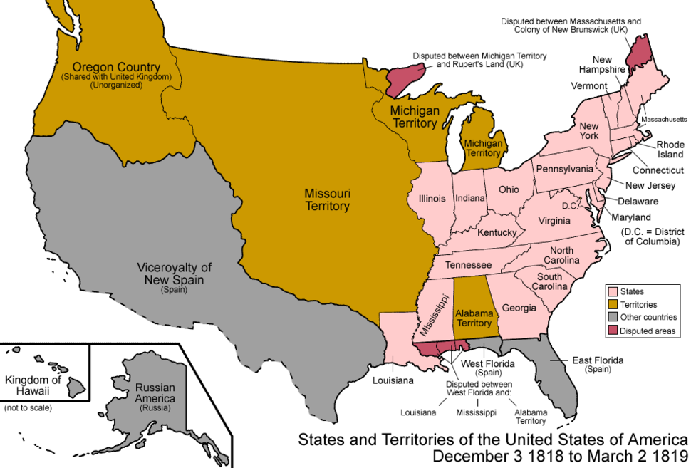 United States 1818-12-1819-03