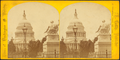United States Capitol, with Statue of Washington in the foreground, by L. Cudlip.png